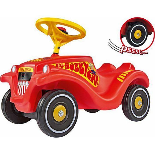 [Netto Online] BIG Bobbycar Feuerwehr mit Flüsterreifen / Weihnachtsgeschenk für Kinder- PFehler