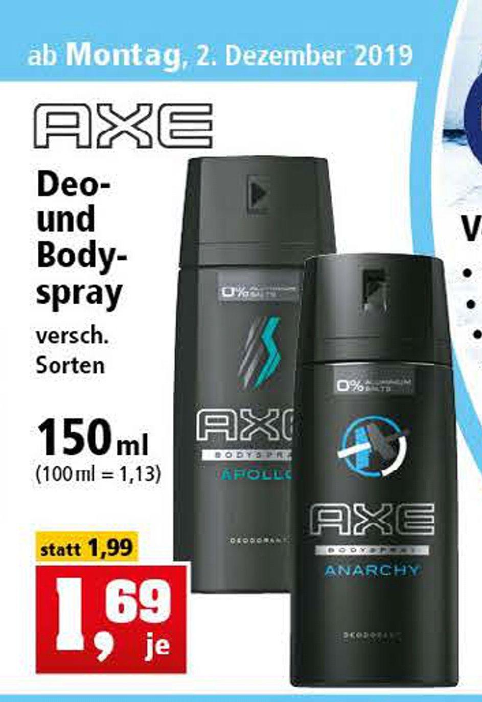 Axe Deo & Bodyspray [Thomas Philipps]