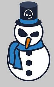 Teamspeak: Christmas Badge + Adventskalender auf Instagram