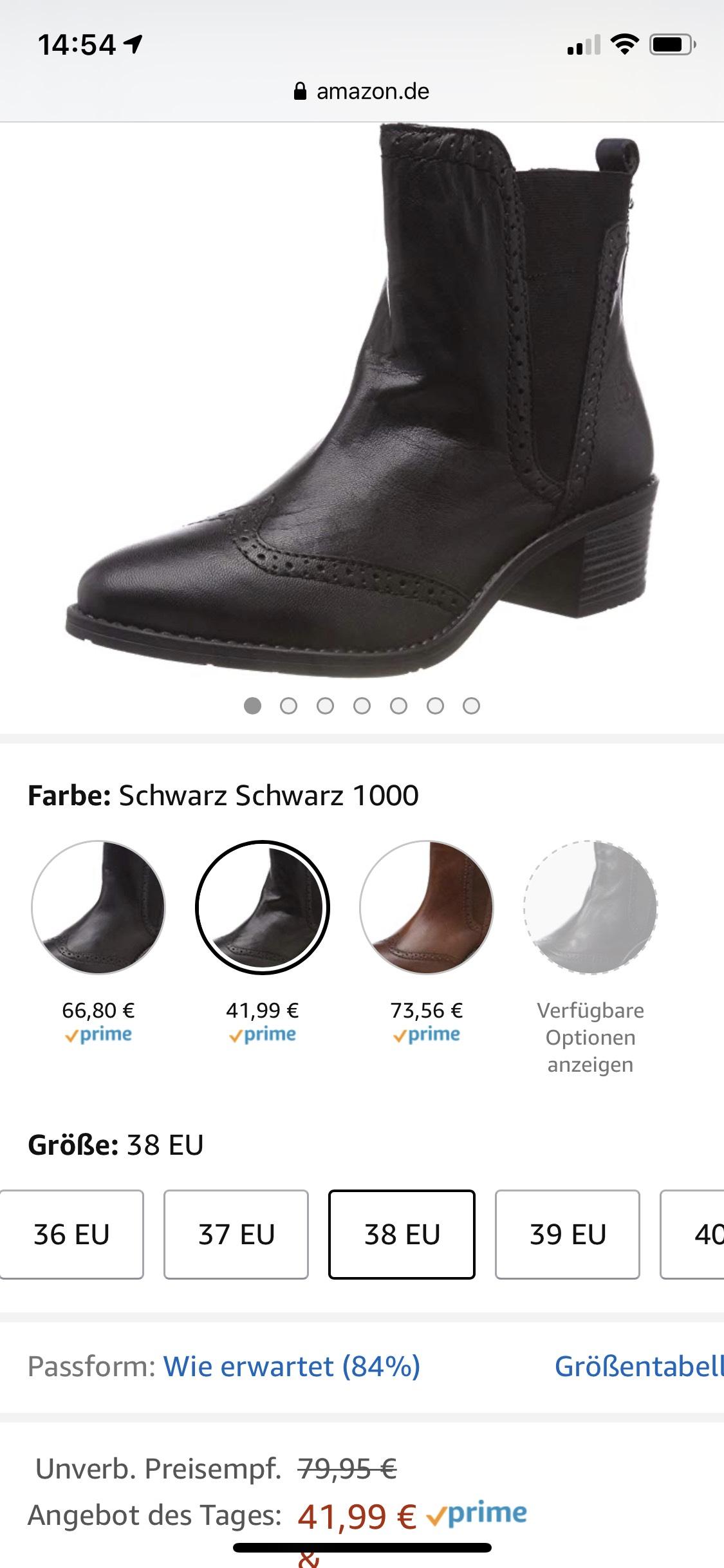 """Amazon.de: """"Bis zu"""" 58% auf Bugatti Schuhe (Realistischerweise 10-20%)"""