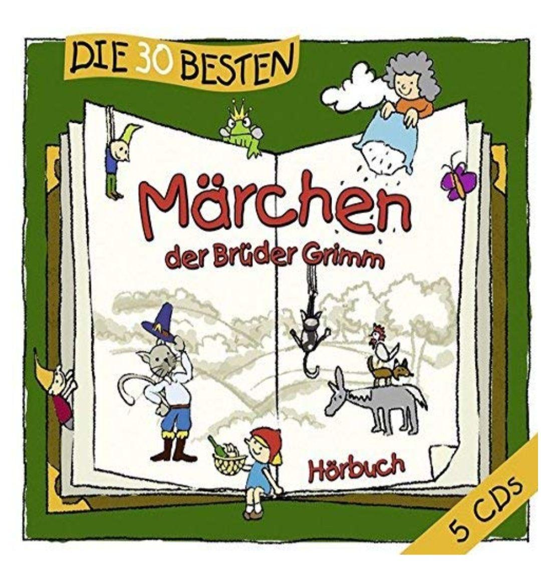 Die 30 besten Märchen der Brüder GrimmHörbuch, Box-Set, CD
