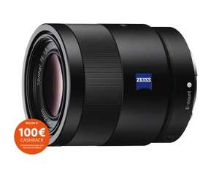 Sony Zeiss Sonnar T* FE 55mm f1.8 ZA SEL-55F18Z E-Mount für 599,00€ - 100€ Cashback = 499,00€