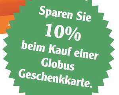 [Lokal Rostock] 10% Rabatt beim Kauf einer GLOBUS Geschenkkarte