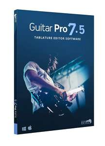 Guitar Pro 7.5 - Download / Box, Win & MacOS