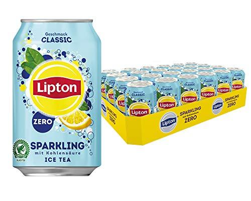 [Amazon Pfandfehler Sammlung] z.B. LIPTON ICE TEA Sparkling Zero Classic (24 x 0.33l) 16,56€