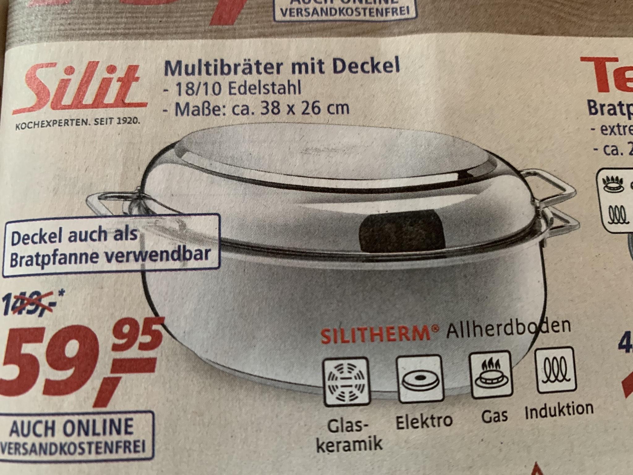 Silit Multibräter mit Deckel (family und friends mgl.)