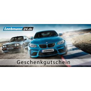 5 % Rabatt auf Geschenkgutscheine von Leebmann24.de (BMW-Zubehör und Ersatzteile)