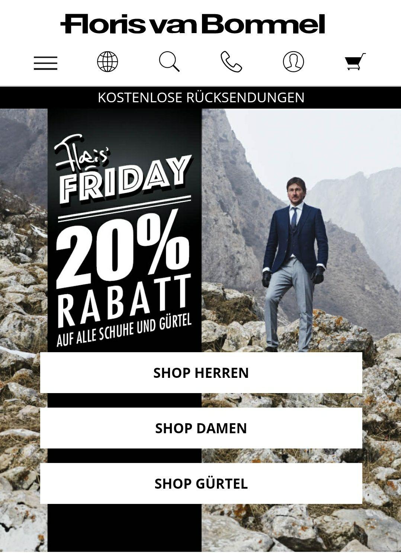 Floris van Bommel -20% dank Floris Friday / online und offline