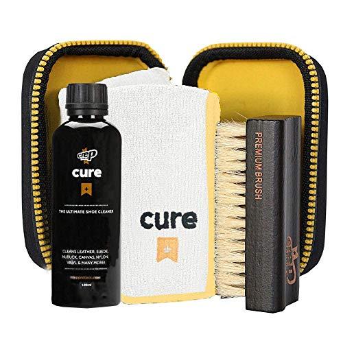 Crep Protect Cure Ultimate Schuhreiniger - 4-tlg. Reinigungsset für Schuhe und Sneaker bei Amazon & Asos