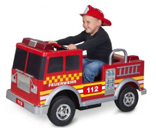 Kalee Elektro Feuerwehrauto 113 x 52 x 55 cm (LxBxH)
