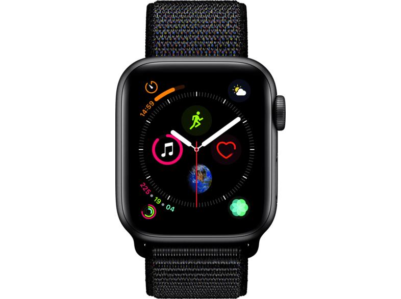 Apple Watch Series 4 GPS 44mm Aluminiumgehäuse mit Sport Loop Schwarz & weitere Modelle - Online ausverkauft, nur noch Lokal in Österreich