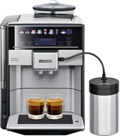 SIEMENS TE657F03DE EQ.6 plus extra Klasse Edelstahl Kaffeevollautomat [expert]