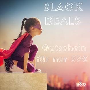 A&O Hostels Black Deals Gutschein für 2 Nächte im Doppelzimmer