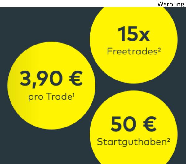 [comdirect] 50€ Neukundenprämie bei Depoteröffnung + 15 Freetrades