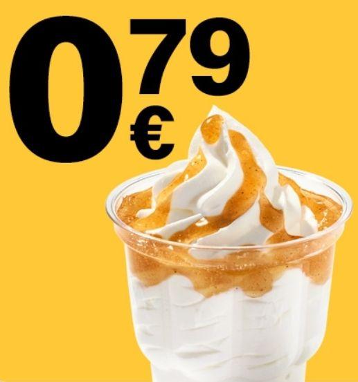 McSundae nach Wahl für 0,79€ o. Doppelburger nach Wahl für 1,99€[McDonald's App]