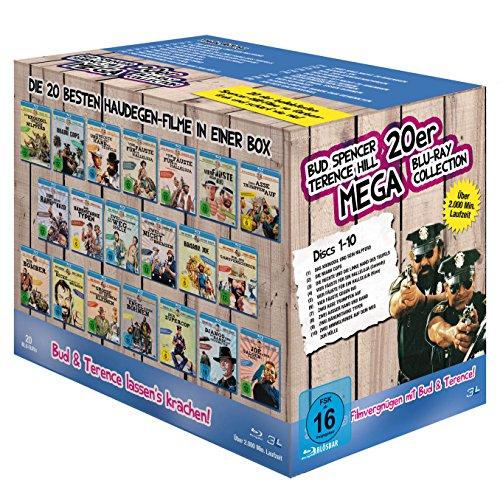 Bud Spencer & Terence Hill Komplettbox mit 20 Filmen wieder im Angebot (Amazon)