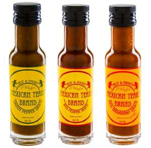 Mexican Tears [3x100ml Chilisauce] bei Amazon (Prime)
