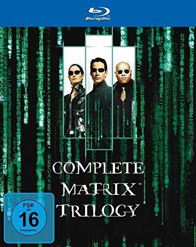 Die Matrix-Trilogie (3 Discs Blu-ray) für 9,97€ (Amazon Prime)