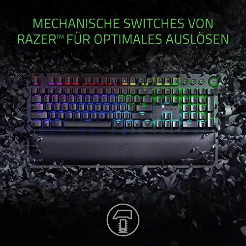 [Amazon] Razer Gaming Tastatur BlackWidow Chroma Elite (Green Switches)