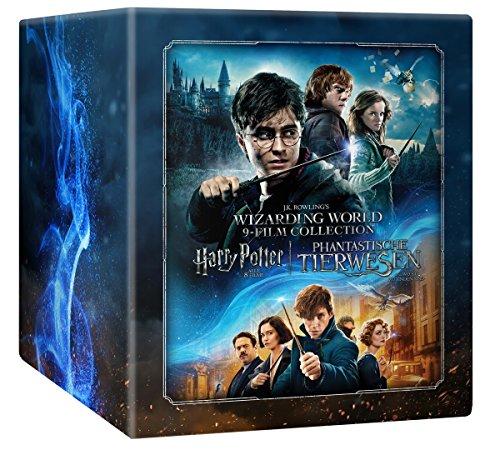 [Amazon] Wizarding World 9-Film-Collection: Harry Potter + Phantastische Tierwesen und wo sie zu finden sind Blu-ray