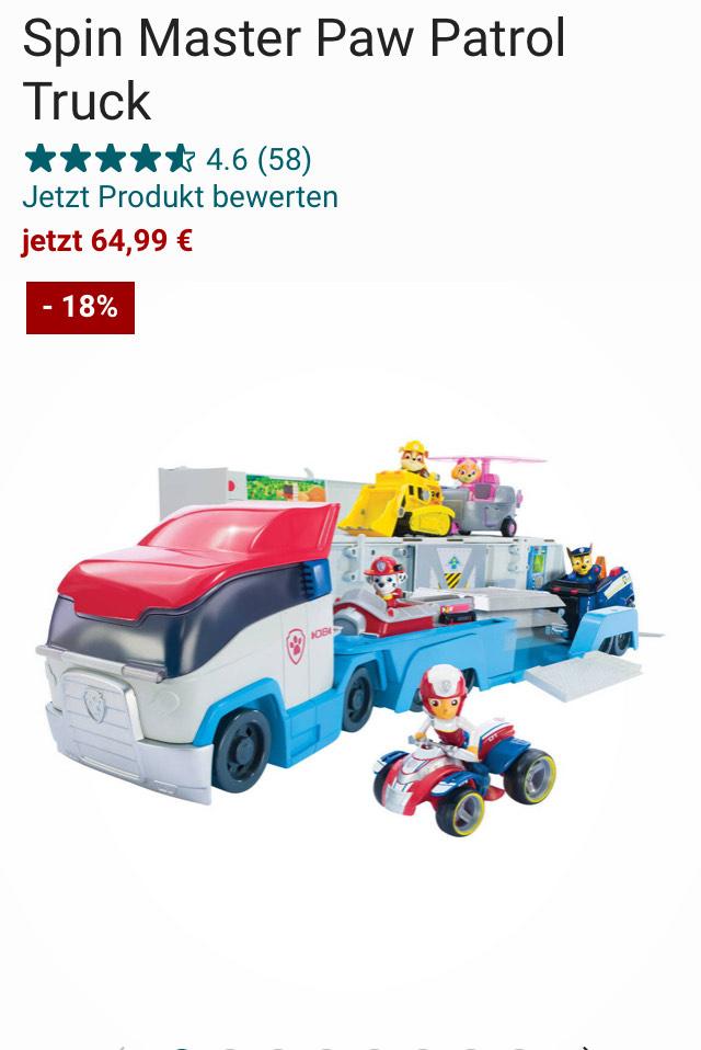 Paw Patroller und andere Spielzeuge -15%!!