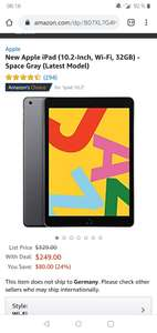 Neues Apple iPad (10.2-inch, Wi-Fi, 32GB) - Space Gray (Neuestes Modell)