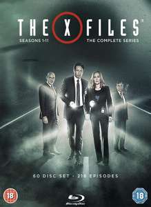 The X-Files Complete Series, Season 1-11 inkl. Dt. Ton & UT auf Blu-Ray