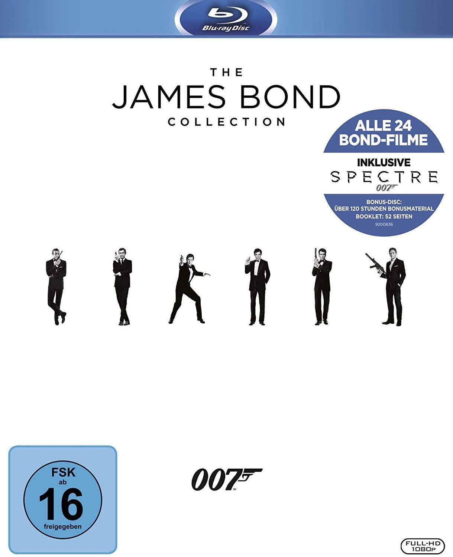 James Bond - Collection 2016 [Blu-ray] (Amazon)