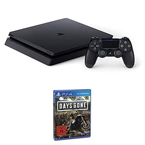 PlayStation 4 Slim - Konsole (1TB, schwarz) + Days Gone - Standard Edition