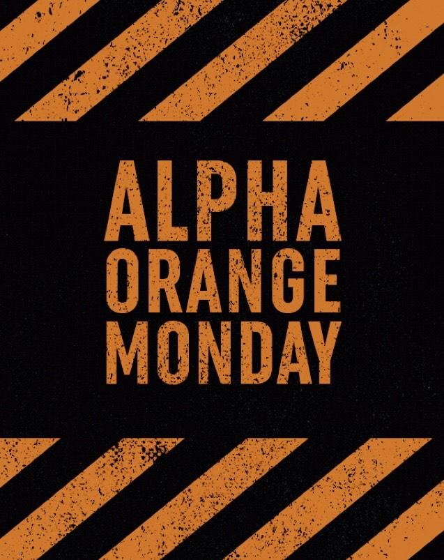 Alpha Industries - Alpha Orange Monday Sale + 10% Rabatt auf alles!