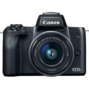 Canon EOS M50 mit 15-45mm Objektiv für 458,99€ mit dem Ebay Gutschein!