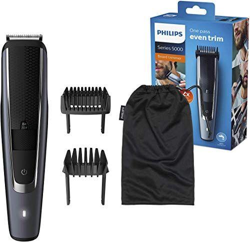 Philips Rasierer im Angebot auf Amazon: Philips Bartschneider für 40 verschiedene Looks (0,4 - 20 mm), selbstschärfende Metallklingen