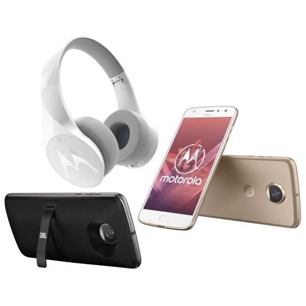 Motorola moto z2 play inkl. JBL SoundBoost 2 + BT Kopfhörer & ALDI TALK Starter-Set mit 10€ Startguthaben