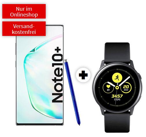 Samsung Galaxy Note 10 Plus mit Watch Active im Debitel Vodafone (8GB LTE) mtl. 31,99€ einm. 99€