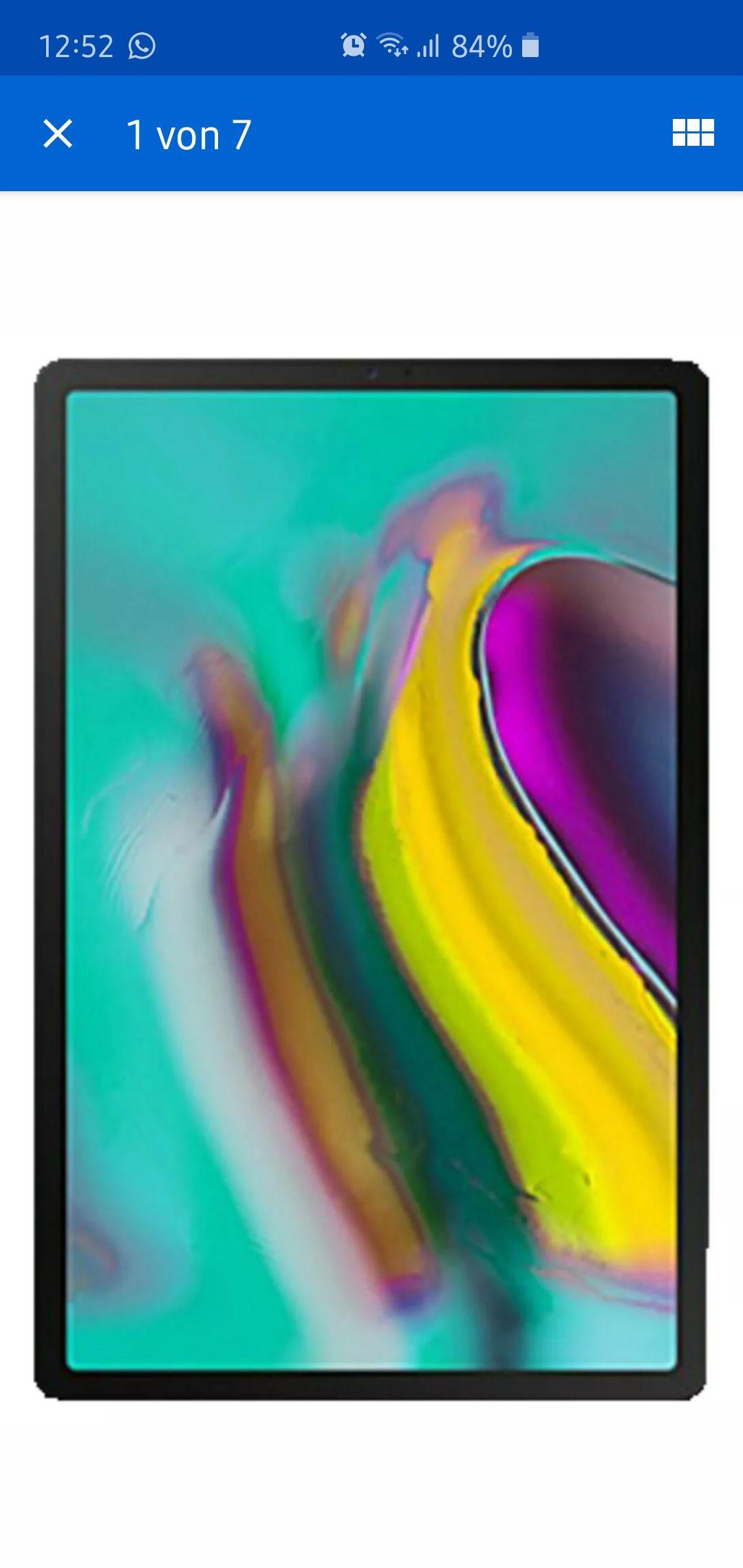 Galaxy Tab s5e bei Filialenabholung.