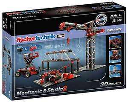 fischertechnik - 536622 - PROFI Mechanic+Static 2 Konstruktionsbaukasten