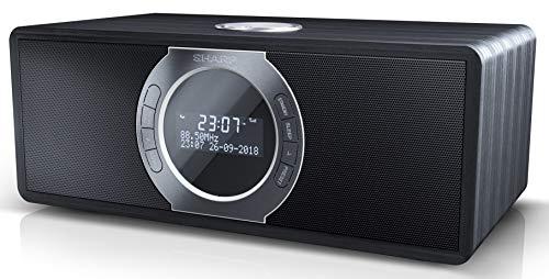 [Amazon] SHARP DR-S460 (BK) Stereo Digitalradio/DAB, DAB+, Bluetooth, FM Radio, Alarm-/Schlaf und Snooze-Funktion, 30 Watt, Holzoptik)