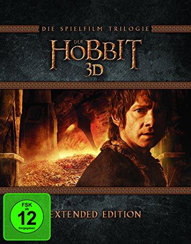 Der Hobbit: Die Trilogie 3D - Extended Version (Blu-ray 3D + Blu-ray) für 36,97€ (Amazon)