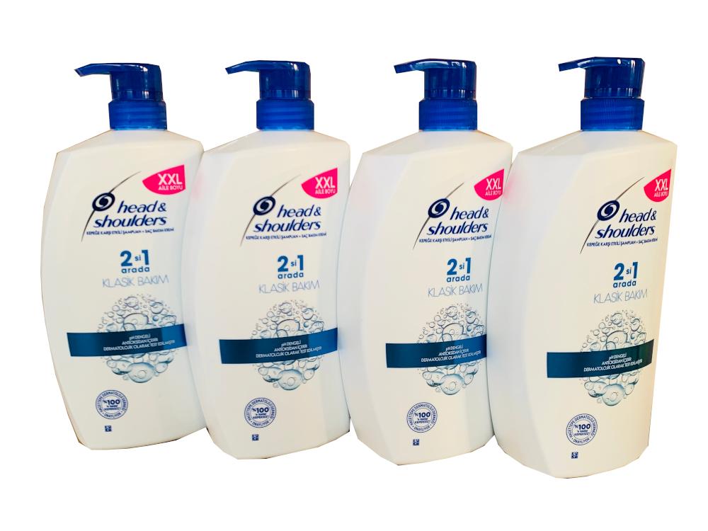 4x Head & Shoulders Classic Clean Anti-Schuppen Shampoo (900 ml) (3,6 Liter für 25,90€)