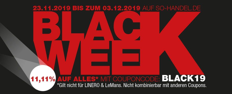 Blackweek bei SO Handel