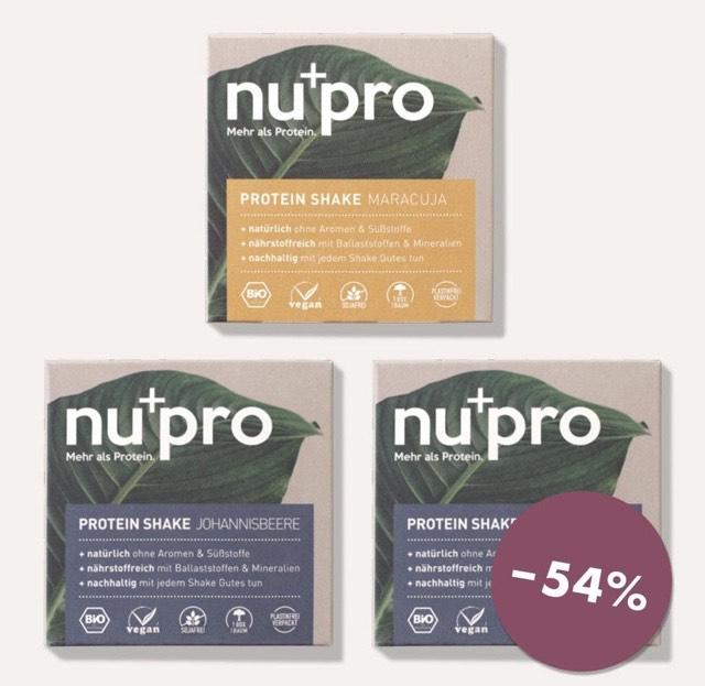 Protein Shake | nupro Komplettpaket (2400g) | vegan