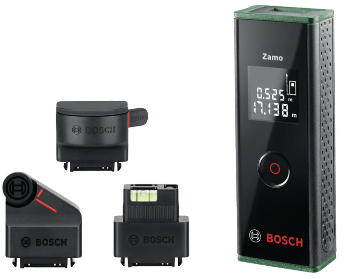 Blitzangebot: Bosch Laser Entfernungsmesser Zamo 3. Generation Premium Set für 50,36€ inkl. Versandkosten