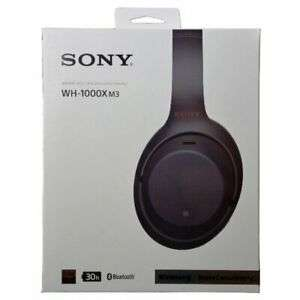 Brandneue Sony WH-1000XM3 Wireless Noise Cancelling Headphone black