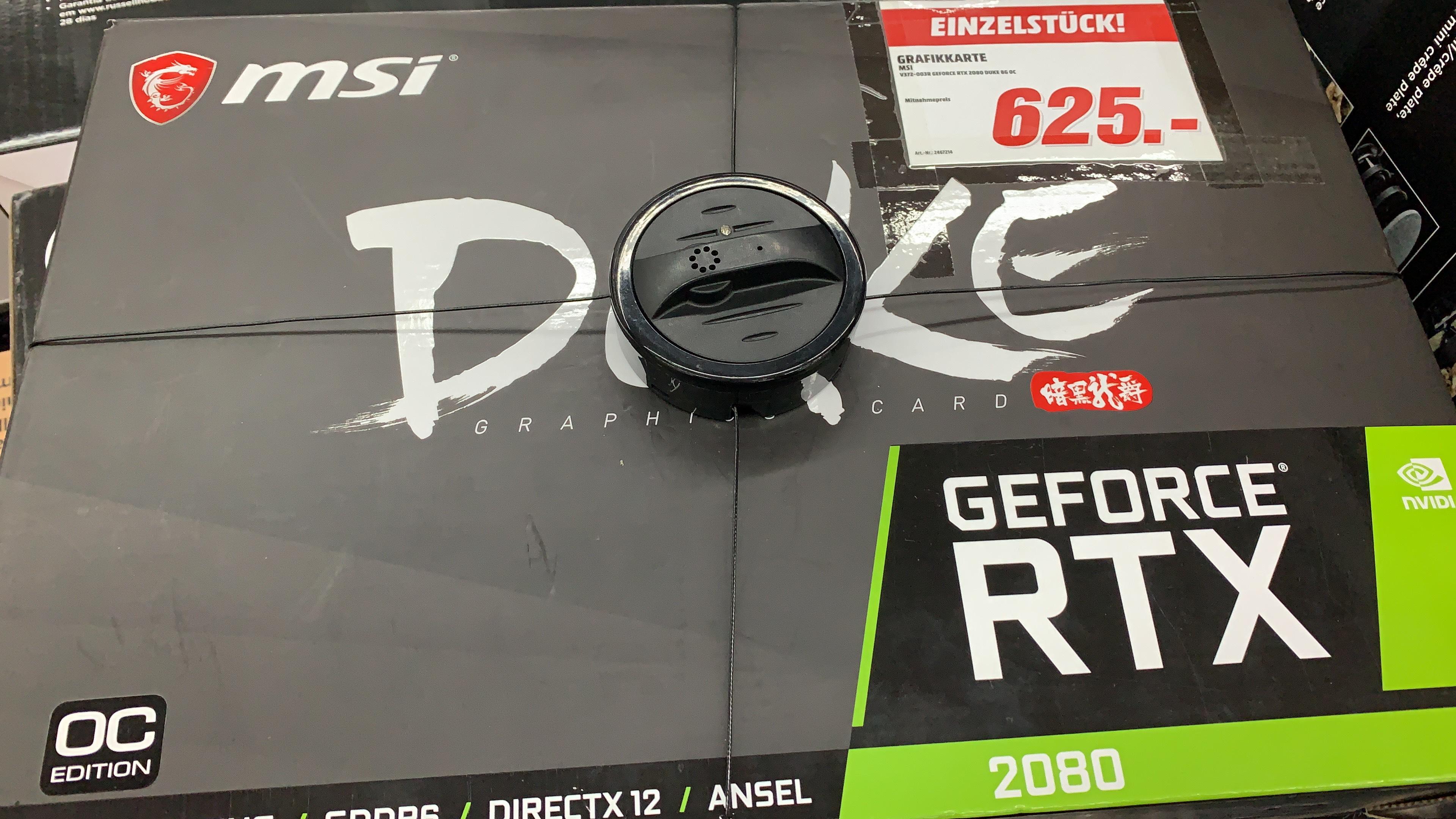 MSI Duke RTX 2080 8GB OC - MM Erding [Lokal]