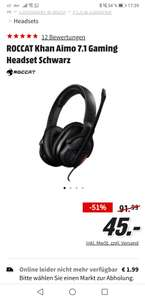 Roccat khan aimo 7.1 Gaming Headset (Lokal)
