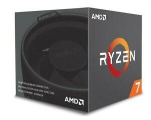 AMD Ryzen 7 2700 CPU BOX Prozessor (8C16T, 3,2GHz, Socket AM4)