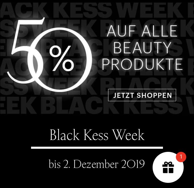 50 % Rabatt auf alle Beauty-Produkte von KESS