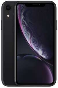 Apple iPhone XR - 128GB - Schwarz/Weiß (Ohne Simlock) NEU OVP MRY92ZD/A EU