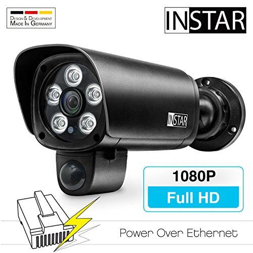 INSTAR IN-9008 Full HD (PoE) schwarz - PoE Überwachungskamera