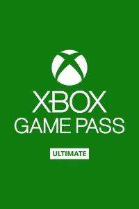 Xbox Live Game Pass Ultimate 4 Monate für 2€